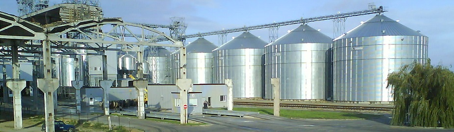 Various grains silo complex, in Ukraine, using MORILLON extraction systems.