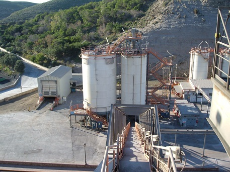 morillon Cement Extraction in Spain